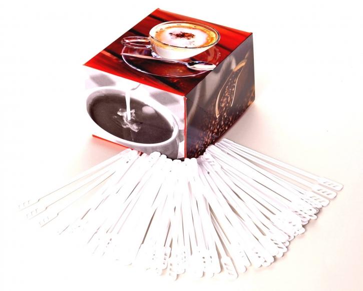 Ruehrstaebchen XXL 160 mm Kunststoff 200 Kaffeerührer