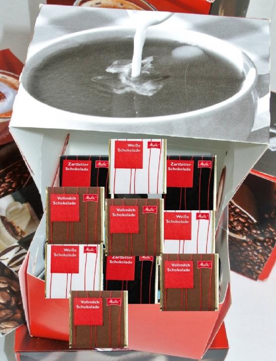 Melitta Schokoladen - Mix Display 750g Schokoladenbox 29079