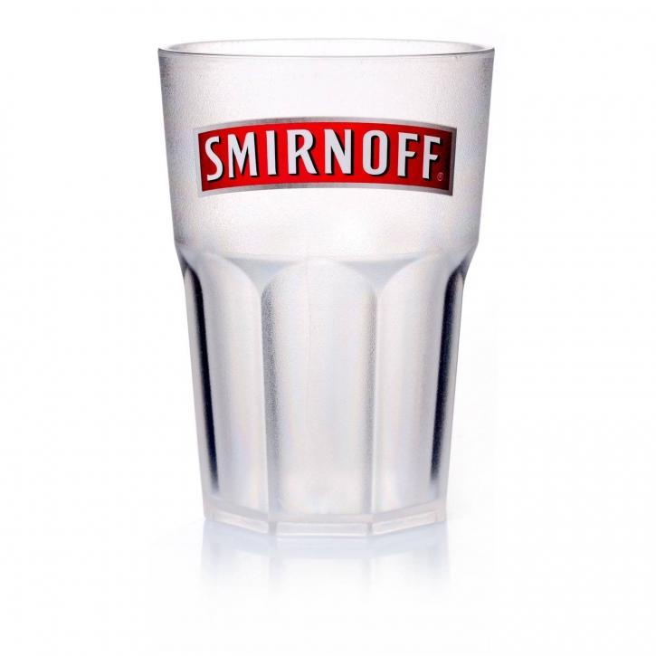 Smirnoff Vodka Mehrwegbecher 0,3 l mit Schaumrand