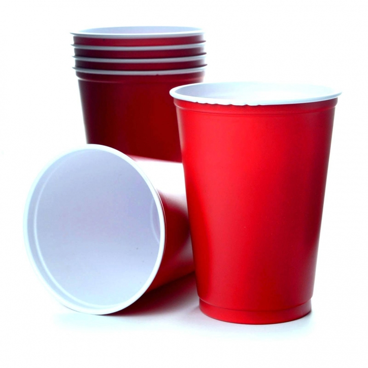 Solo Cups 10oz Beer Pong 100 American Cup USA 295ml