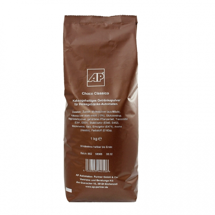 AP Choco Classico Kakao 1kg, Kakaopulver Vending