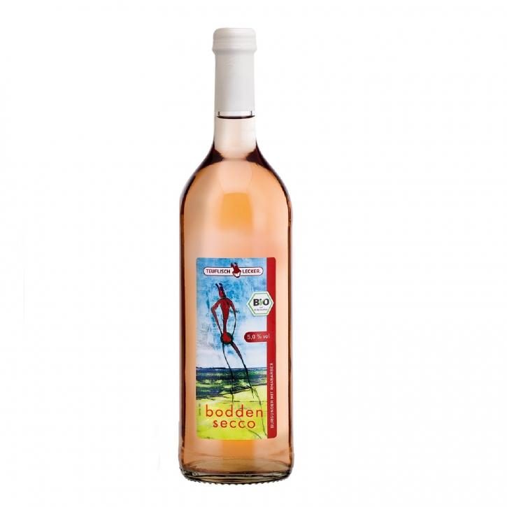 Bio Bodden Secco Rhabarber 0,75l Rhabarber-Cocktail 5% vol.