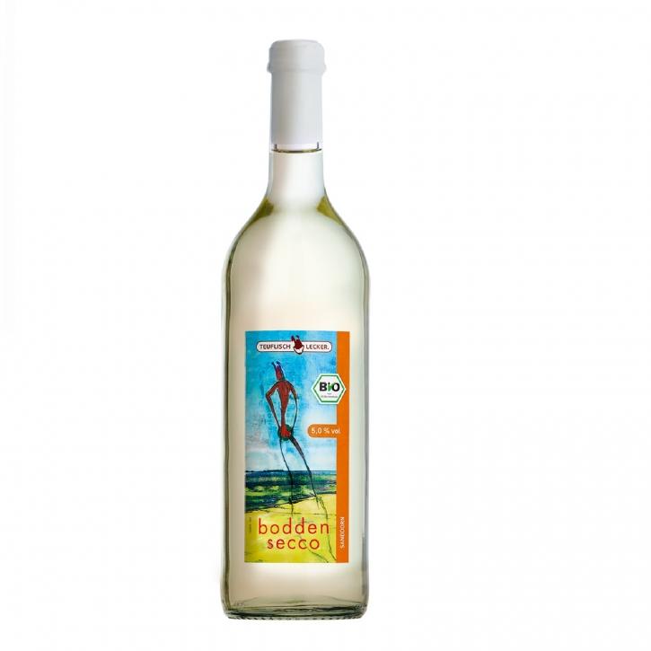 Bio Bodden Secco Sanddorn 0,75l Sanddorn- Beeren Cocktail 5% vol.