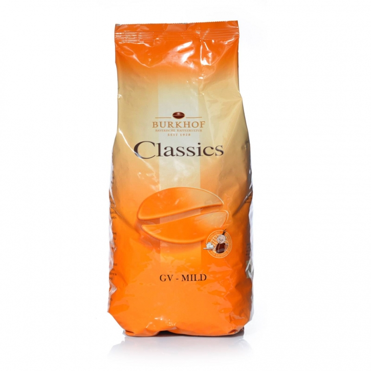 Darboven Classic GV - Mild 6 x 1Kg ganze Kaffee-Bohne