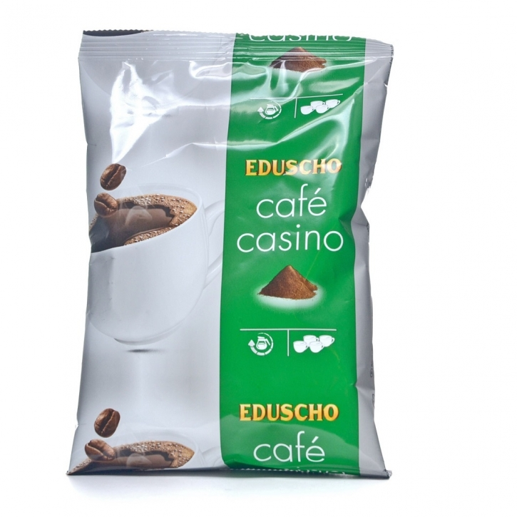 Eduscho Cafe Casino kräftig - 72 x 70g Kaffee gemahlen, Filterkaffee
