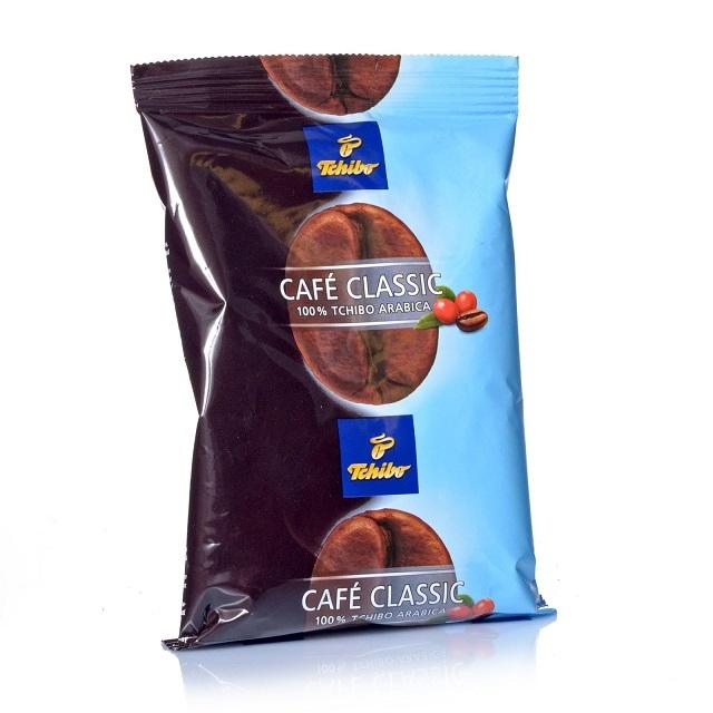Tchibo Cafe Classic Mild 75 x 70g Kaffee gemahlen, Filterkaffee, 100% Arabica