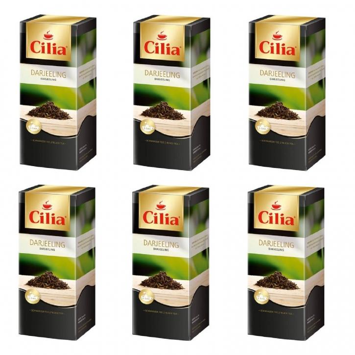 Melitta Cilia Tee Darjeeling 6 Packungen je 25 x 1,75g