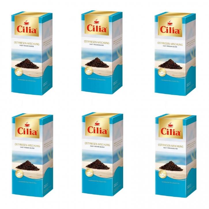 Melitta Cilia Tee Ostfriesen-Mischung 6 Packungen je 25 x 1,75g