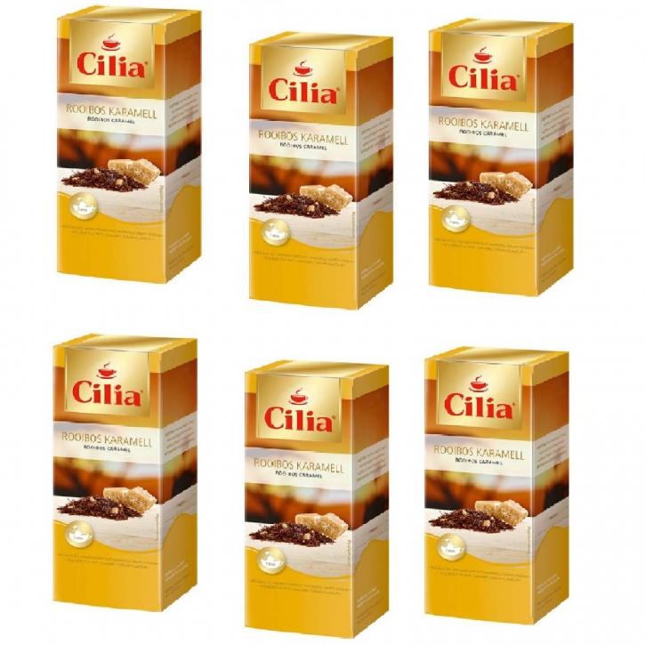 Melitta Cilia Tee Rooibos Karamell 6 Packunge je 25 x 1,75g