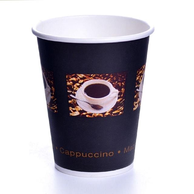 Coffee Beans Pappbecher 0,3l Einwegbecher 36cl Becher 50 Stk.