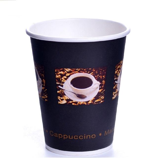 Coffee Beans Pappbecher 0,4l Einwegbecher 48cl Becher 50 Stk.
