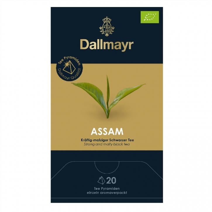 Dallmayr Assam Bio Schwarzer Tee 20 Pyramiden x 2,5g