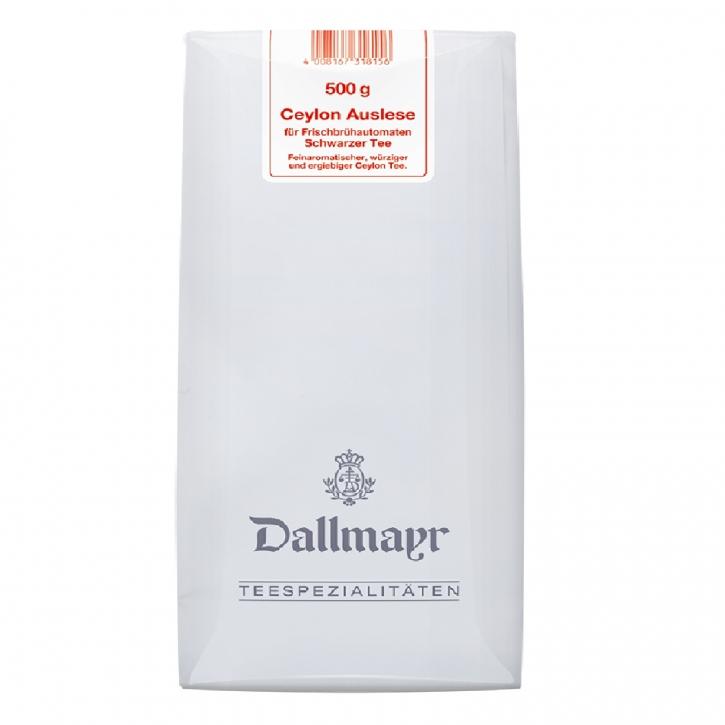 Dallmayr Ceylon Tee Auslese 8 x 500g für Frischbrühautomaten