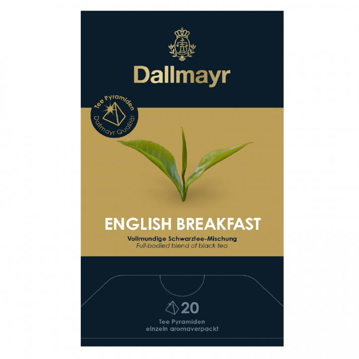 Dallmayr English Breakfast 20 Tee Pyramiden x 2,5g