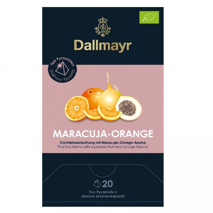 Dallmayr Maracuja Orange Bio 20 Tee Pyramiden x 4g