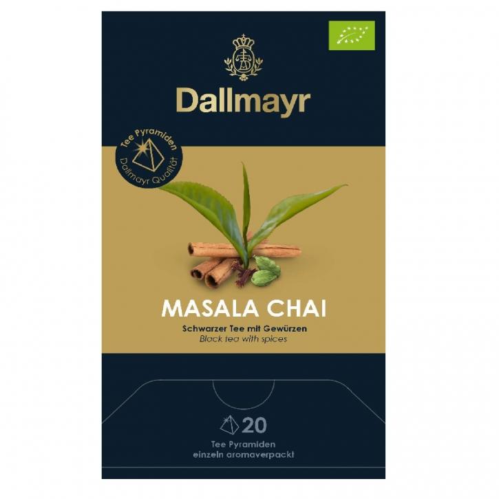 Dallmayr Masala Chai Bio 20 Tee Pyramiden x 3g