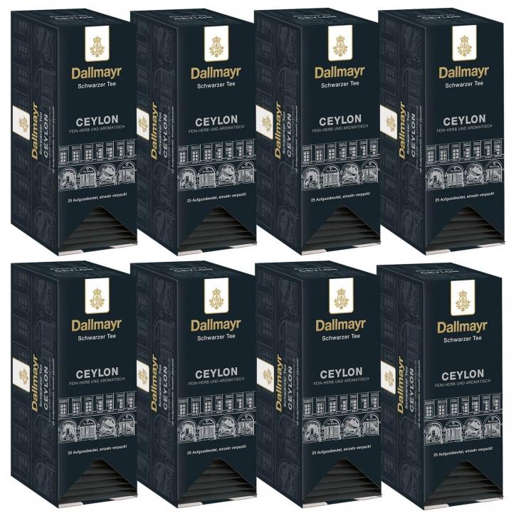 Dallmayr Schwarzer Tee Ceylon Kuvertiert 8er 25 x 1,75g