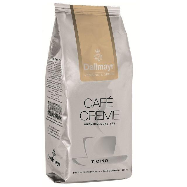 Dallmayr Ticino Café Créme 8 x 1Kg ganze Bohnen