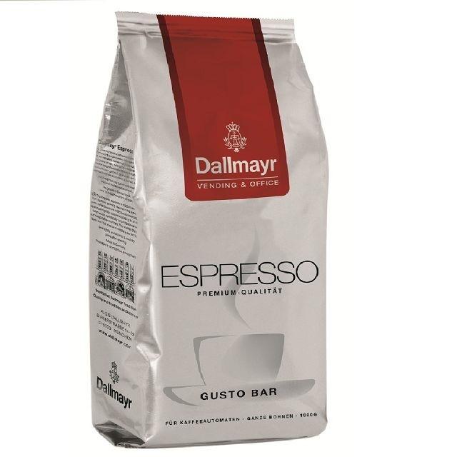 Dallmayr Gusto Bar Espresso 1Kg ganze Kaffee-Bohne
