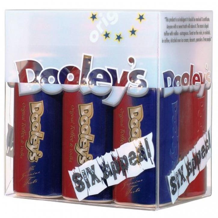 Dooley´s Original Toffee Cream Liqueur Six Appeal 6 Miniaturen 0,05l