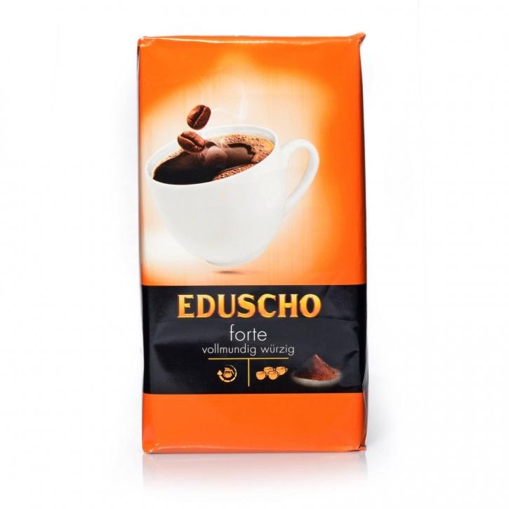 Eduscho Forte 500g Vollmundig Würzig Kaffee gemahlen