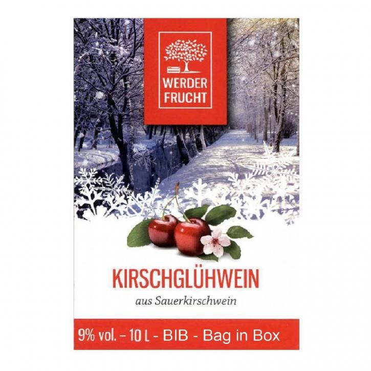 Kirschglühwein Glühwein Kirsch 9% vol. Kirschwein 10 L - BIB - Bag in Box
