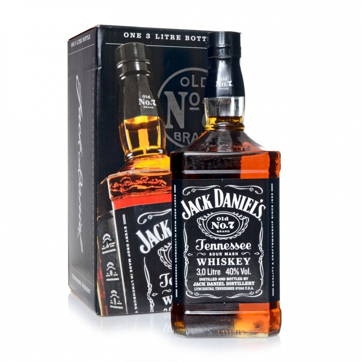 Jack Daniels 3 Liter Tennessee Whiskey