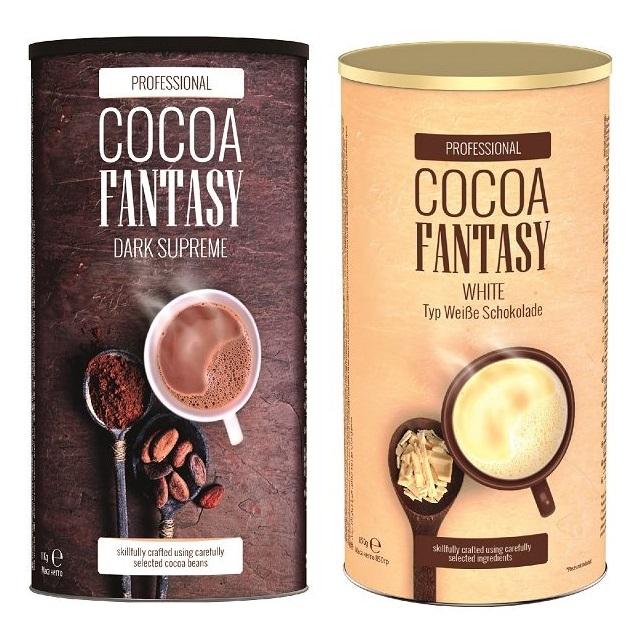 Jacobs Cocoa Fantasy Mix Weiße Dunkle Trinkschokolade 1850g
