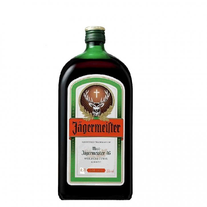 Jägermeister Kräuterlikör 0,7 Liter 35% Vol.
