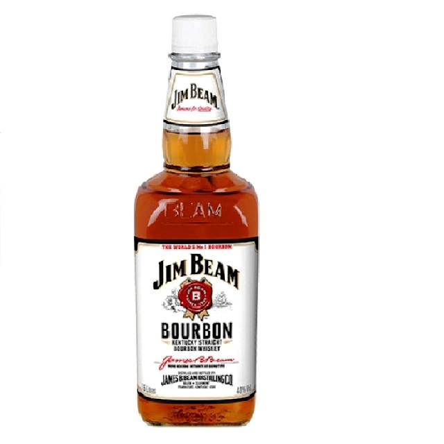 Jim Beam White Bourbon Whiskey 40% Vol. 0,7l
