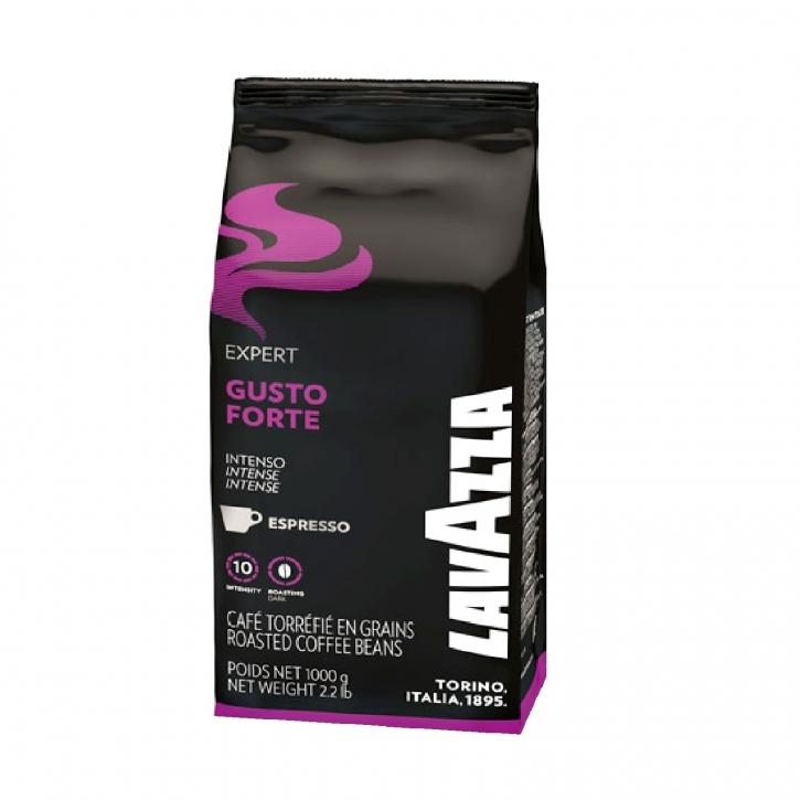 Lavazza Gusto Forte Espresso Vending 1Kg ganze Bohne