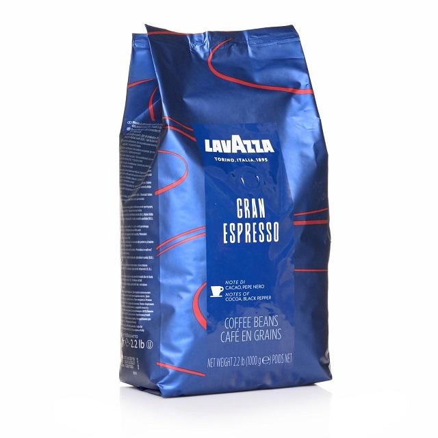 Lavazza Gran Espresso 1Kg ganze Kaffee-Bohne