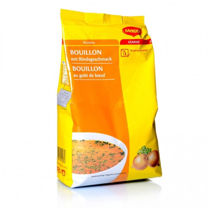 Maggi Bouillon mit Rindsgeschmack Nestlé 6 x 1kg für Automaten
