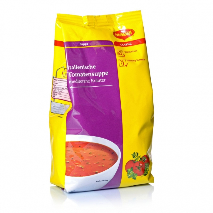 Maggi Italienische Tomatensuppe Nestlé 6 x 1kg für Automaten