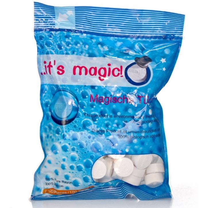 Magische Tücher / ...it`s magic! 100 biologische Tabs