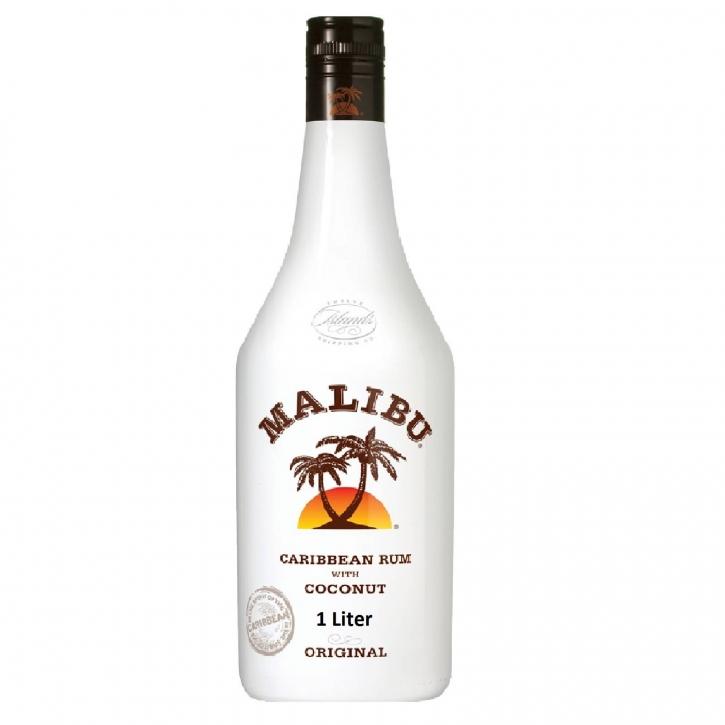 Malibu Caribbean Rum 1 L Coconut 21 % vol.