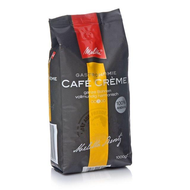 Melitta Gastronomie Café Créme 100% Arabica-Kaffee 1000g ganze Bohne
