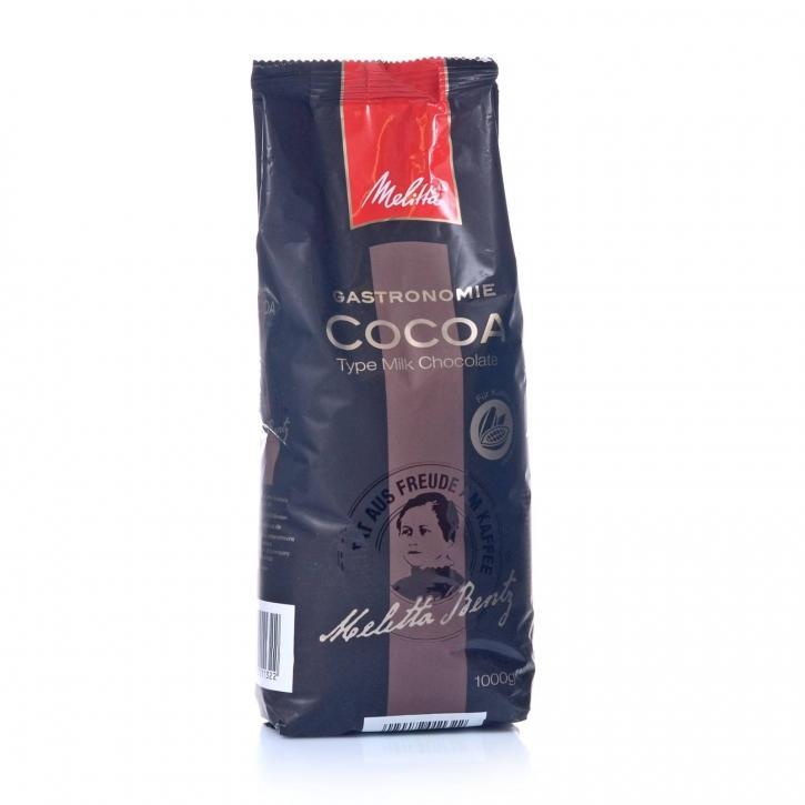 Melitta Gastronomie Kakao Milk Chocolate 1000g Cocoa