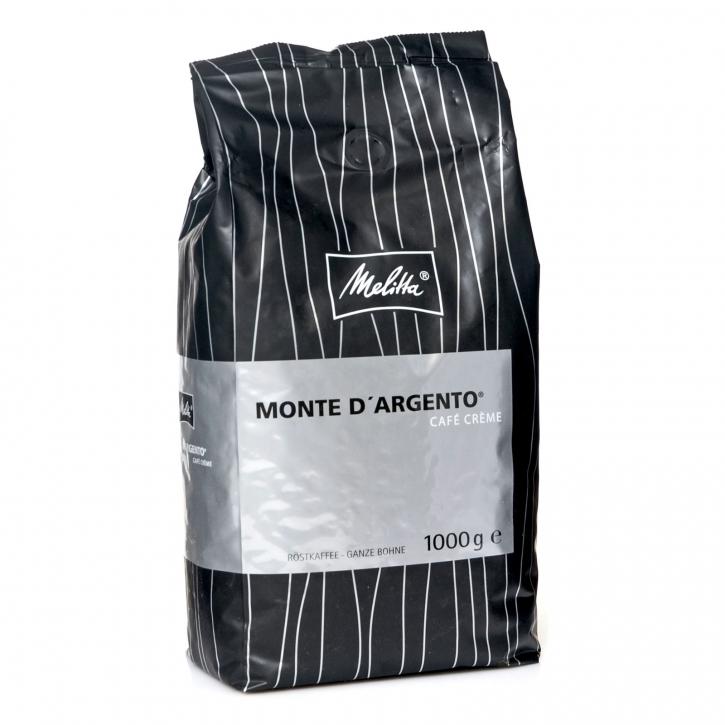 Melitta Monte d`Argento 8 x 1kg ganze Kaffee-Bohne