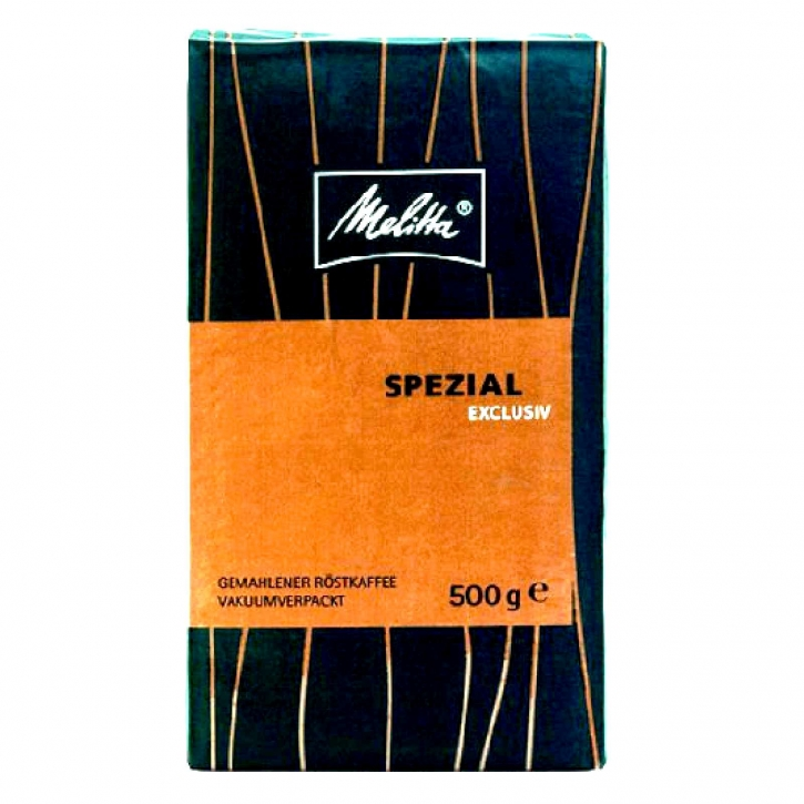 Melitta Spezial Exclusiv Gemahlener Röstkaffee 12 x 500g vakuumverpacktKaffee gemahlen