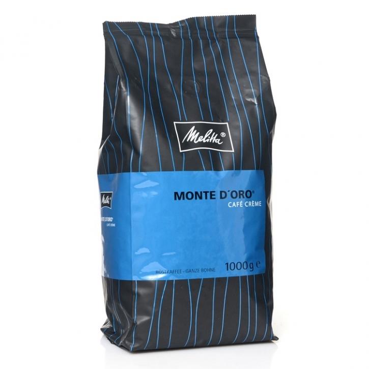Melitta Monte Doro Mild 8 x 1 Kg Kaffee ganze Bohne