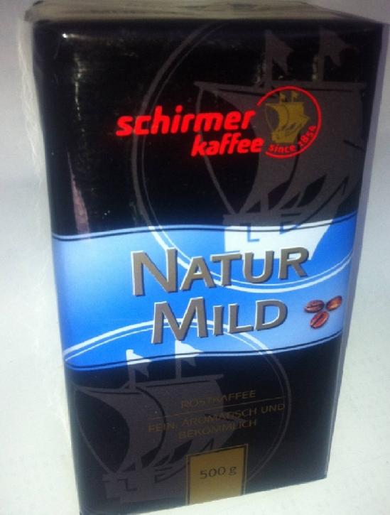 Schirmer Kaffee Natur Mild 12 x 500g Kaffee gemahlen
