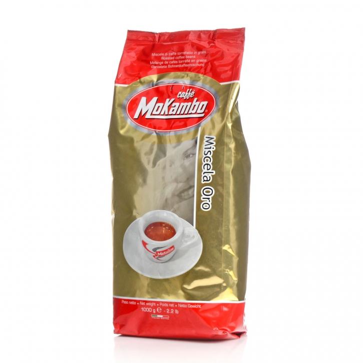 Mokambo Oro, Miscela 1Kg Espresso ganze Kaffee-Bohne