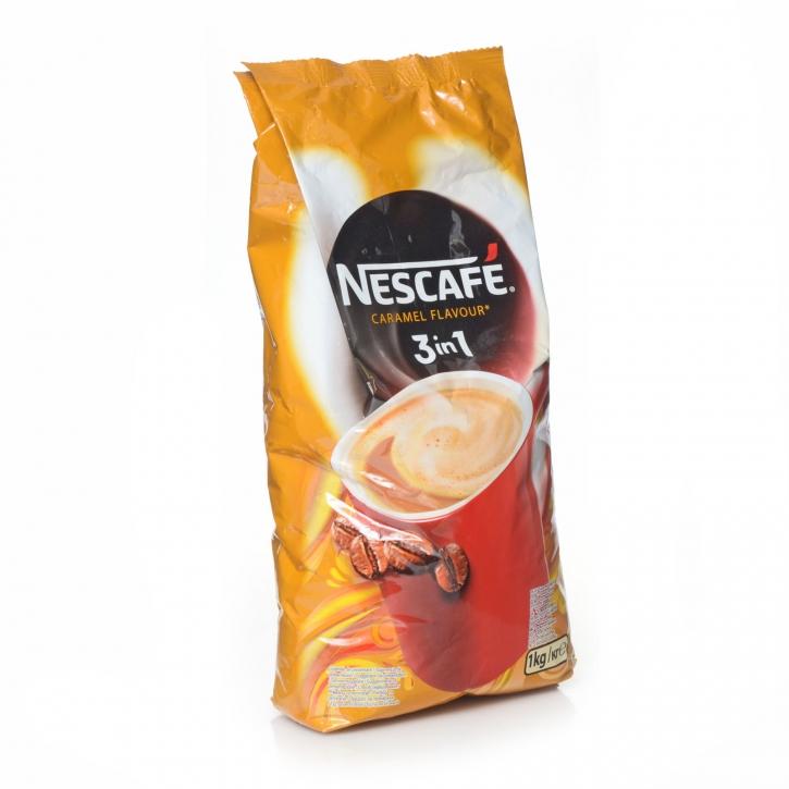 Nescafé 3in1 Karamell Flavour Kaffee Caramel 10 x 1Kg