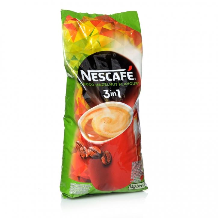 Nescafé 3in1 Choco Hazelnut Flavour Schoko-Haselnuss Nestlé 10 x 1Kg