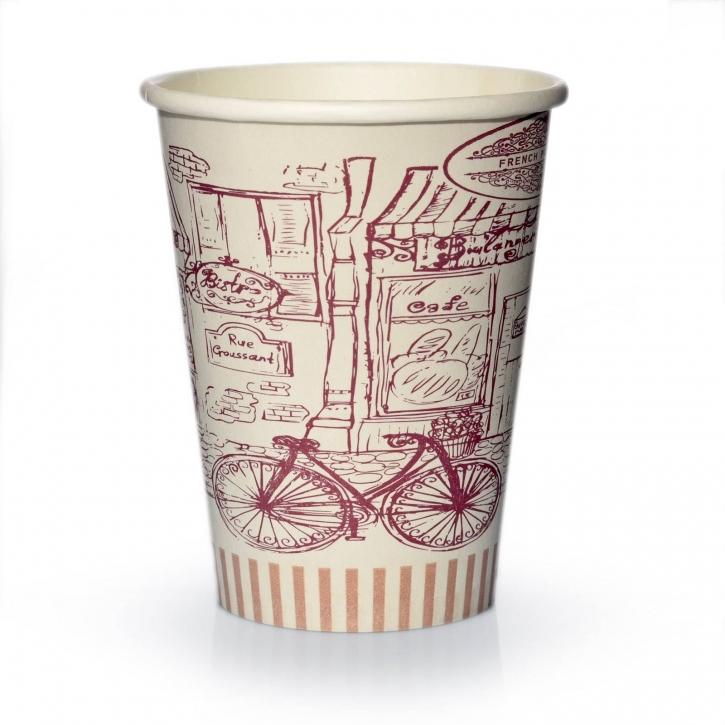 Coffee to go Becher 0,2l Pappbecher Bistro 50 Stk.