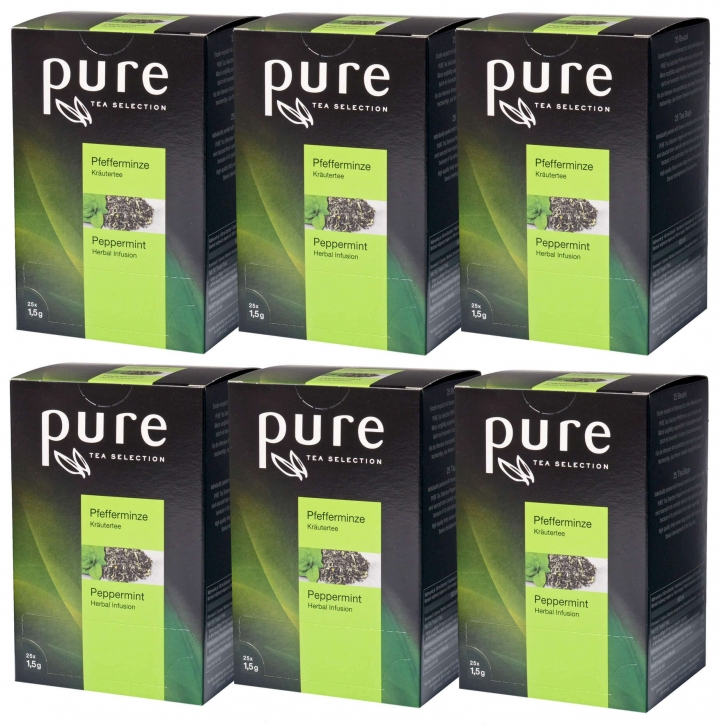 Pure Tea Selection Pfefferminztee 6 x 25 Portionen