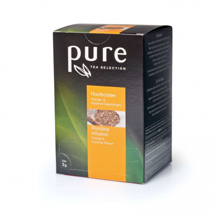 Pure Tea Selection Tchibo Pure Tea Selection Rooibos-Orange-Karamell 25 x 3g
