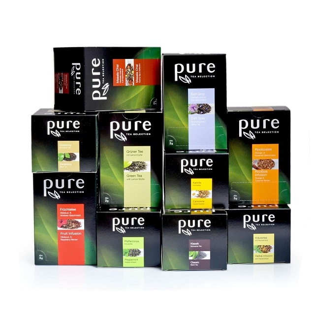 Pure Tea Selection Starter Set 6 x 25 Portionen Tee