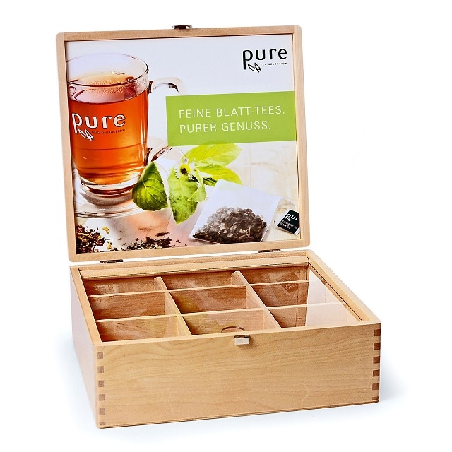 Pure Tea Tee-Box Tee Edel Holzbox